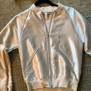 American apparel silk jacket